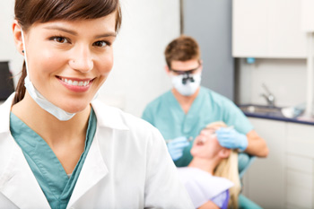 Smiling Dental Assistant